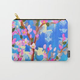 Rustic Blossom Carry-All Pouch