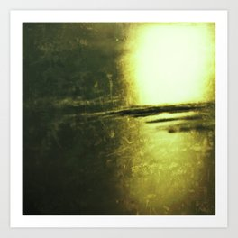 Abstract #6 (Untitled) Art Print