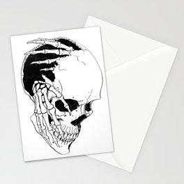 Skull (Creeping Hands) Stationery Cards