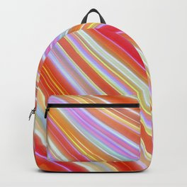 Wild Wavy Lines 23 Backpack