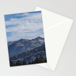 The Mountains of Lake Tahoe Stationery Cards