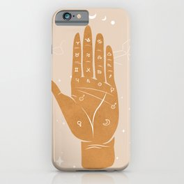 Palmistry 1 iPhone Case