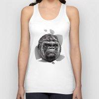 gorilla Tank Tops featuring Gorilla by Creadoorm