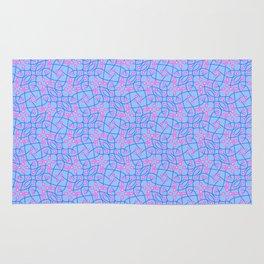 Patterns: Blue Pink Vines Rug