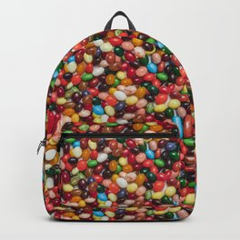 Gourmet Jelly Beans Candy Photo Pattern Backpack