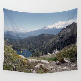 Mt Shasta Wall Tapestry