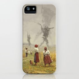 1920 -The march of the Iron Scarecrows iPhone Case