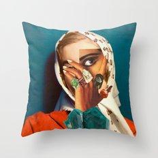 DIOPTASE Throw Pillow