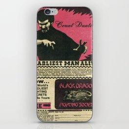 Count Dante iPhone Skin