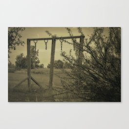 I Can Almost Hear The Children's Laughter Canvas Print