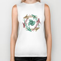 circle Biker Tanks featuring Circle by DebS Digs Photo Art