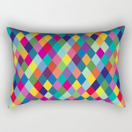 Geometric Pattern #8 Rectangular Pillow
