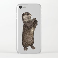 Infatuated Otter Clear iPhone Case