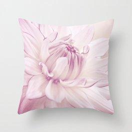 La Dahlia Throw Pillow