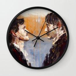 Senza denti Wall Clock