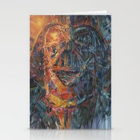 vader Stationery Cards featuring Vader by artofJPH