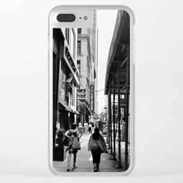 N.Wabash. Clear iPhone Case