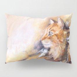Peaceful cat Pillow Sham