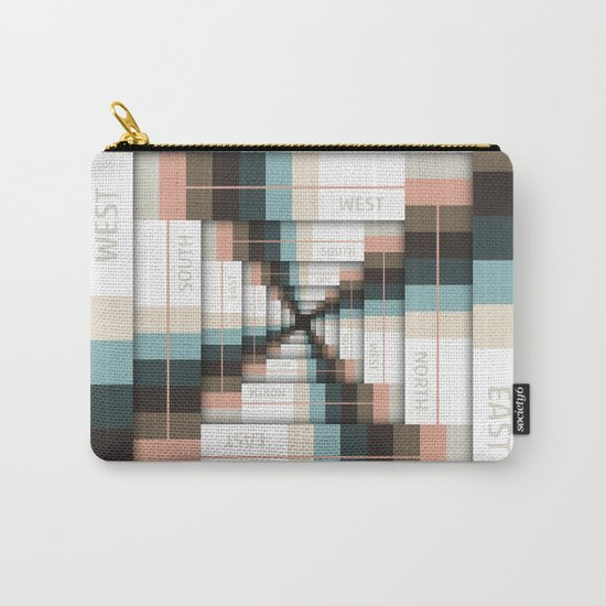 Layers of Directions Carry-All Pouch