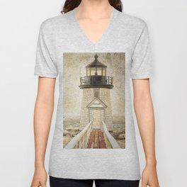 Brant Light Nantucket Unisex V-Neck