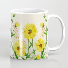 Yellow Wildflowers Coffee Mug