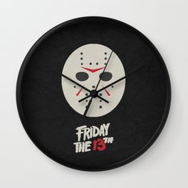 Friday the 13th 01 Wall Clock