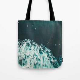 WAVES - OCEAN - SEA - WATER - COAST - PHOTOGRAPHY Tote Bag