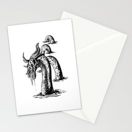 Scarred Serpent Stationery Cards