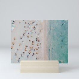 summer beach iii Mini Art Print