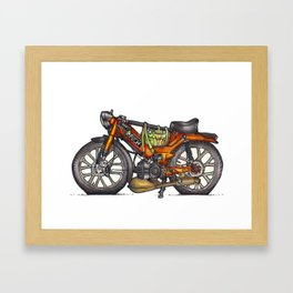 Puch Framed Art Print