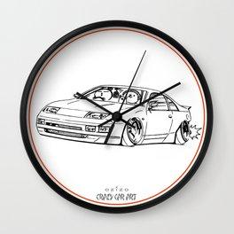 Crazy Car Art 0216 Wall Clock