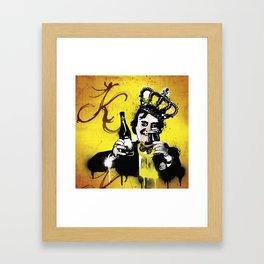 King Floyd  Framed Art Print