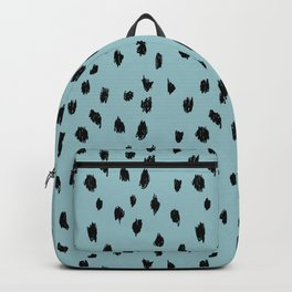 Seeing Spots in Robins Egg Backpack