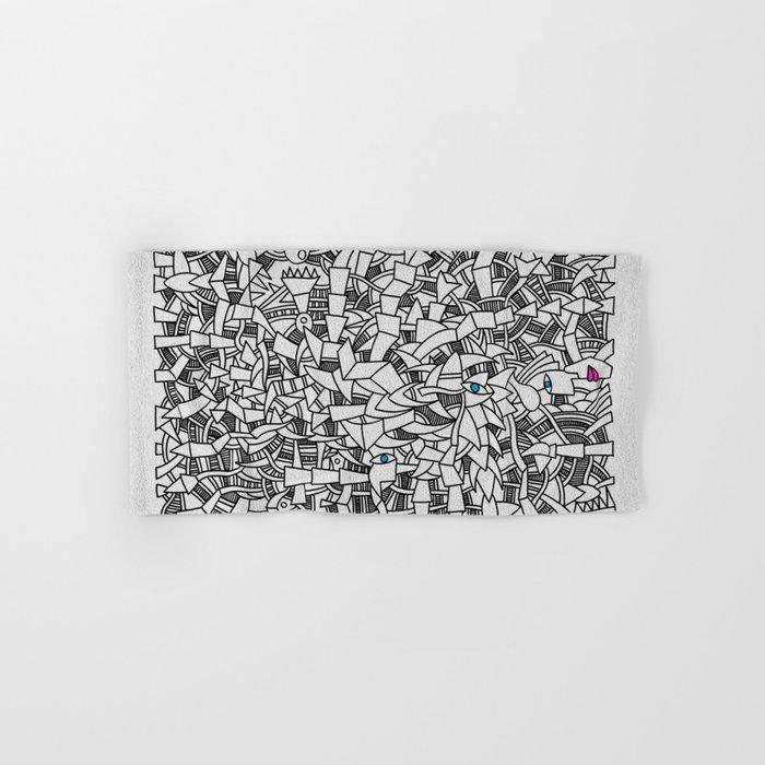 - fresque_01 - Hand & Bath Towel