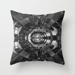 Derelict Airship of Repetition Throw Pillow