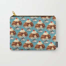 Ice Cream Sundae Pattern Carry-All Pouch