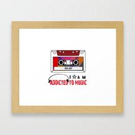MUSICA 70 & 80 Framed Art Print