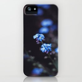 Backyard Flowers iPhone Case