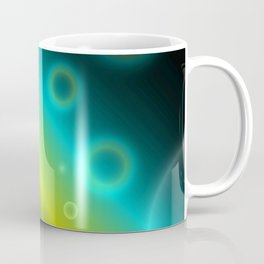 Bubbles Abstract Background G115 Coffee Mug
