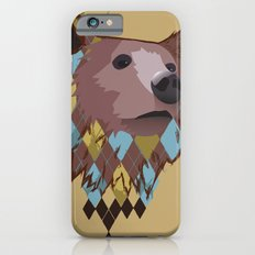 Argyle Bear iPhone 6s Slim Case