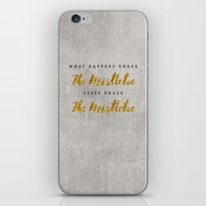 What Happens under The Mistletoe iPhone Skin