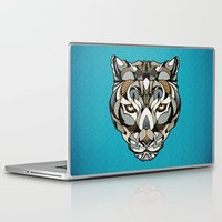 leopard Laptop & iPad Skins featuring Leopard by Andreas Preis