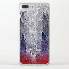 Apocalypse on Ice. Clear iPhone Case