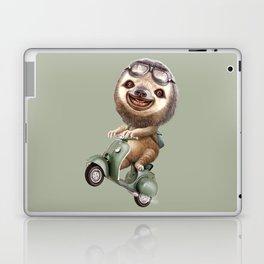 RUNAWAY SLOTH Laptop & iPad Skin