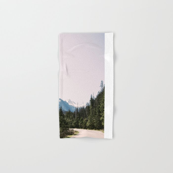 Mountain Landscape with Road Hand & Bath Towel