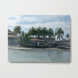 The Haitian Shore Metal Print