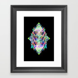 Diamant Framed Art Print