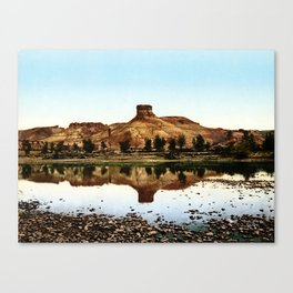 Green River, Wyoming, 1898 Canvas Print