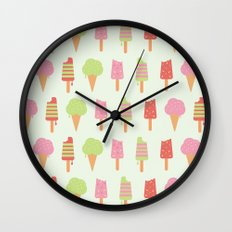 Ice Cream!!!  Wall Clock