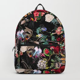 Floral and Birds IX Backpack